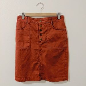 Banana Republic Factory Utility Skirt